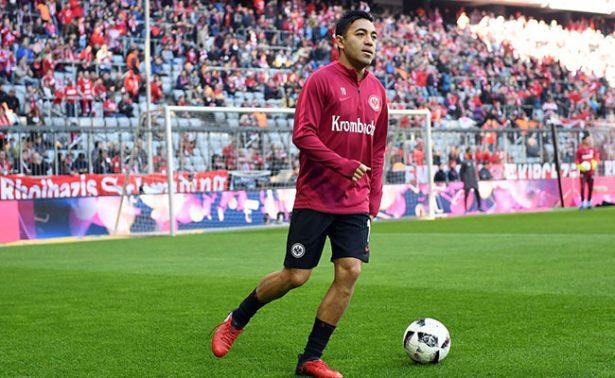Eintracht Frankfurt perdió en la liga alemana ante el Wolfsburgo