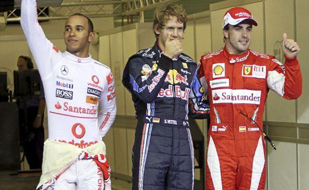 Sebastian Vettel y Lewis Hamilton por el campeonato en el Gran Premio de Mónaco
