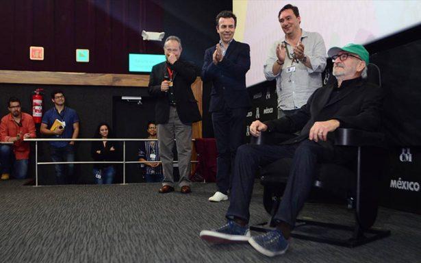 Reconocen trayectoria del director Felipe Cazals en el FICM