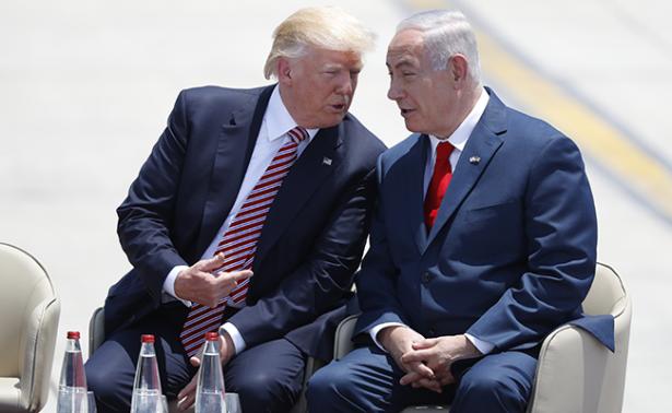 Llega Donald Trump a Israel en busca de diálogo palestino-israelí