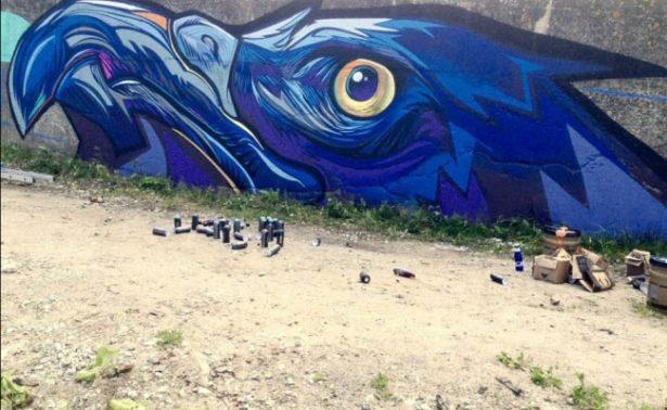 Artistas mexicanos regalan arte urbano al mundo