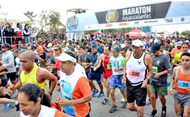 """""""Maratón Guadalupano"""" con los mejores atletas"""