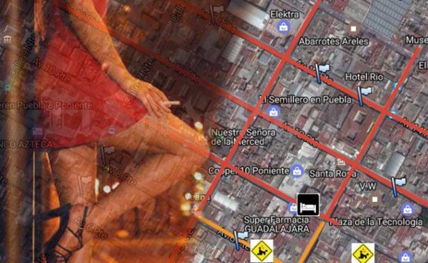 Usan Google Maps para promocionar tour sexual en Puebla