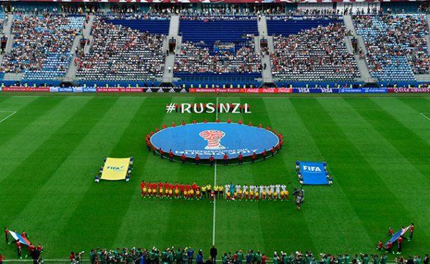 Rusia y Nueva Zelanda abren la Copa Confederaciones