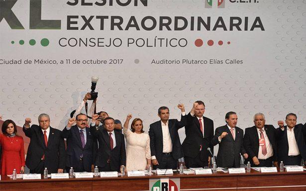 EPN participará en método de elección de candidato del PRI