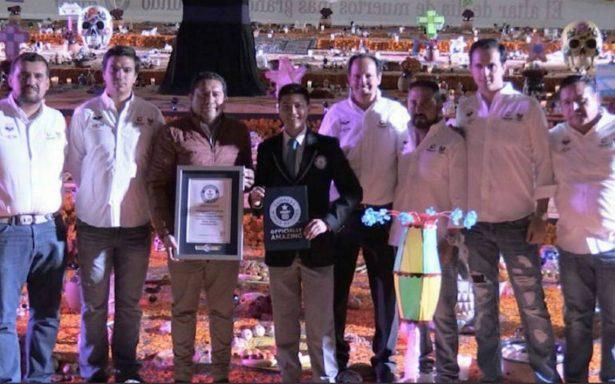 Hidalgo, con récord Guinness por Altar de Muertos más grande del mundo