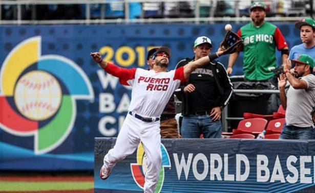 Derrota de Puerto Rico le da oxígeno a México en Mundial de Béisbol