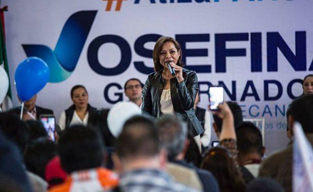 Vázquez Mota toma protesta; PAN afirma que ganará y llegará transición