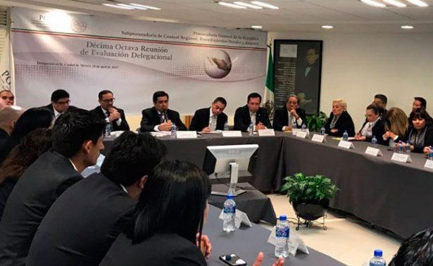 PGR fortalecerá aplicación de justicia en colaboración interinstitucional