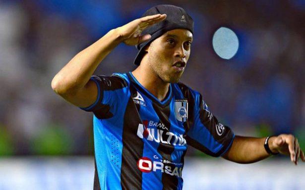 ¡Ronaldinho volverá a jugar en México!
