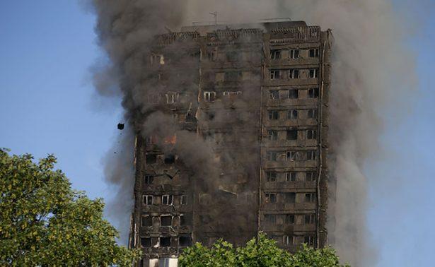 Refrigerador provocó incendio en edificio de Londres que dejó 79 muertos