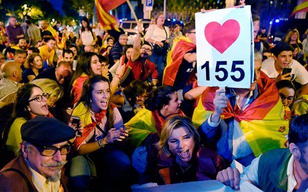 Organizaciones e Instituciones europeas, solidarias 100% con España
