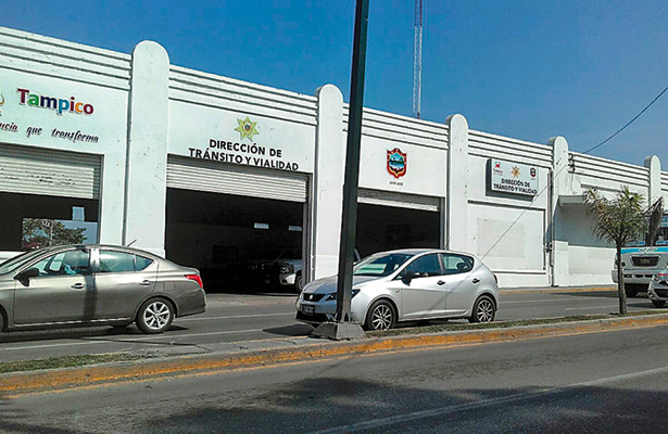 Déficit de agentes viales en Tampico