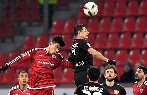 Ingolstadt vence 2-1 al Leverkusen