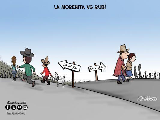 La Morenita vs Rubí