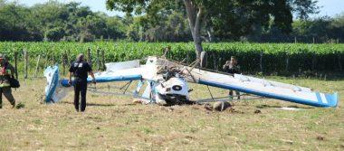 Se desploma avioneta fumigadora en Vallarta
