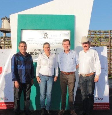 Inauguran un Parque Lineal en Ixtlahuacán
