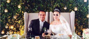 Brenda y Rafael contraen matrimonio; un amor que durará para siempre