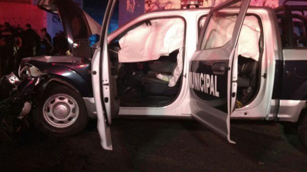 Choque de patrullas deja 4 muertos y 10 heridos