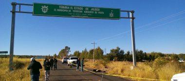 Tiran cuerpo en límites de Jalisco y Zacatecas