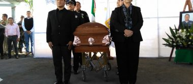 Dan último adiós a policía de Tonalá