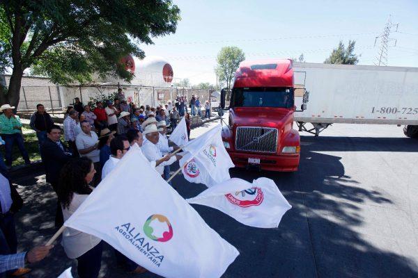 Distribuyen leche de Jalisco como parte del Programa Ganar-Ganar