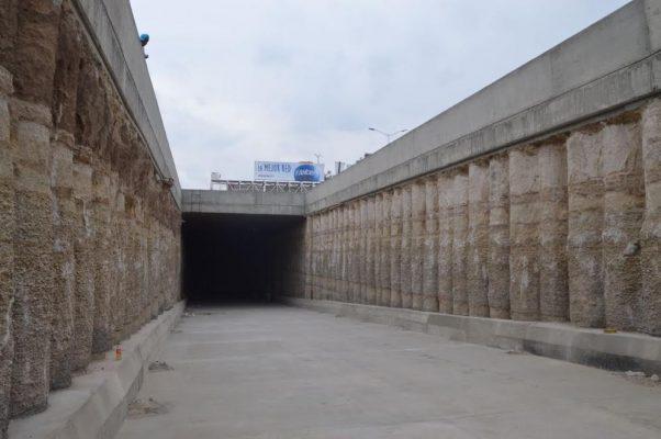 Abrirán túnel en López Mateos mañana martes
