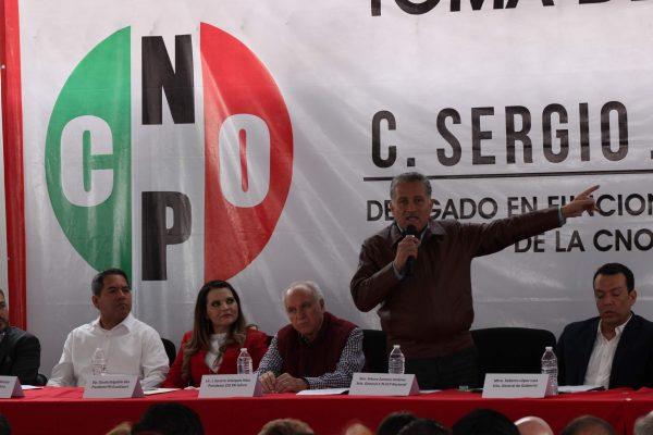 Aspira Arturo Zamora a fortalecer la CNOP