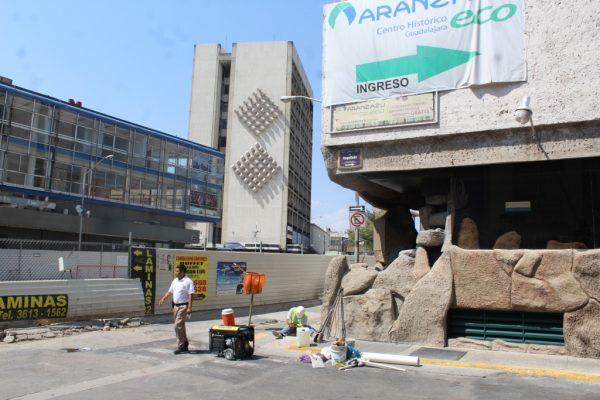 Construcción de la L3 afecta a hoteles del Centro