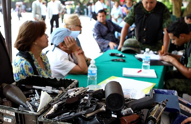 Se aproxima Campaña de Canje de Armas realizada por el Ejército Méxicano