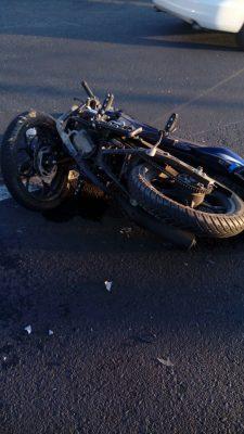 Motociclista falleció después de chocar contra un vehículo en Tlaquepaque