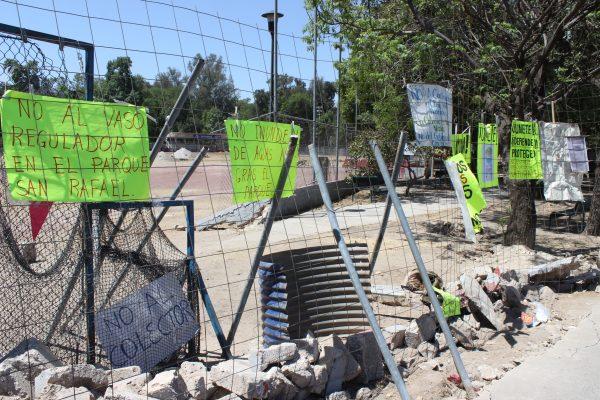 Denunciarán ante Fiscalía vecinos del parque San Rafael