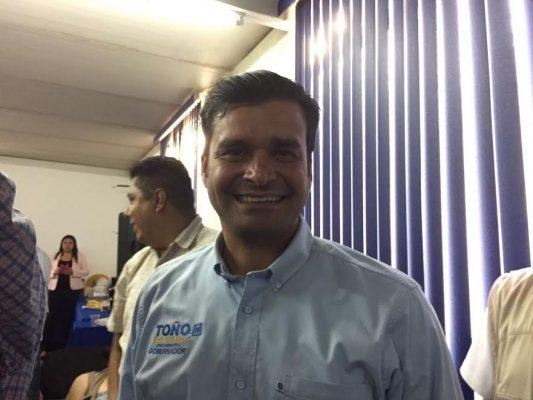 Toño confía en que la Alianza ganará la gubernatura en Nayarit