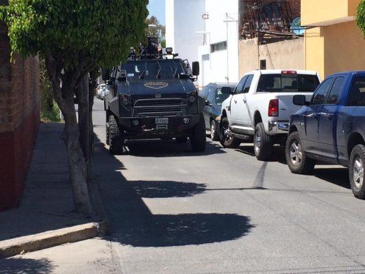 Fiscalía General revisa policías y armamento en Ocotlán
