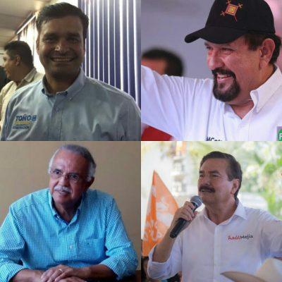 Candidatos a la gubernatura de Nayarit postean en redes sobre Fiscal