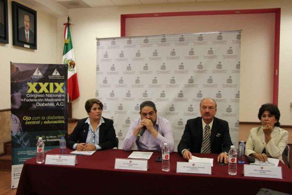 Jalisco será sede del Congreso Nacional de Diabetes