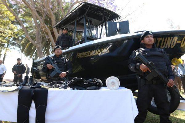 Ponen en marcha Escuadrón Anfibio de la Fiscalía General del Estado