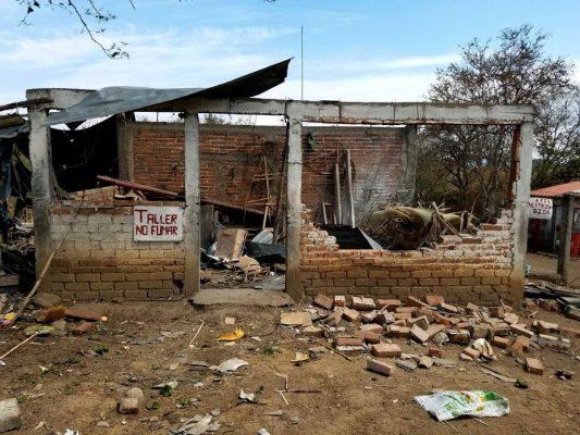 Explosión de polvorín deja una persona fallecida en Tuxpan