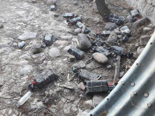Recuperan 16 barras de plata robadas de mina de San Martín de Bolaños