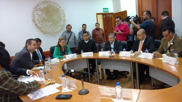 Radica la Comisión de Responsabilidades declaratoria de juicio de procedencia penal contra Barba