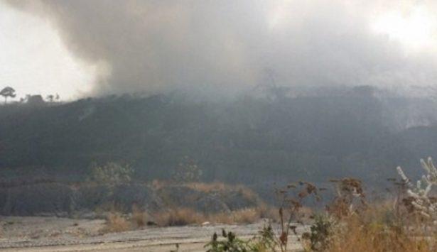 Acaba incendio en   vertedero de Tala
