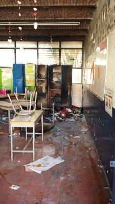 Escuelas afectadas por la delincuencia