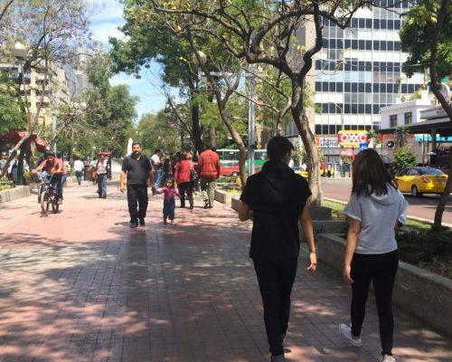 Quieren un Corredor Chapultepec seguro