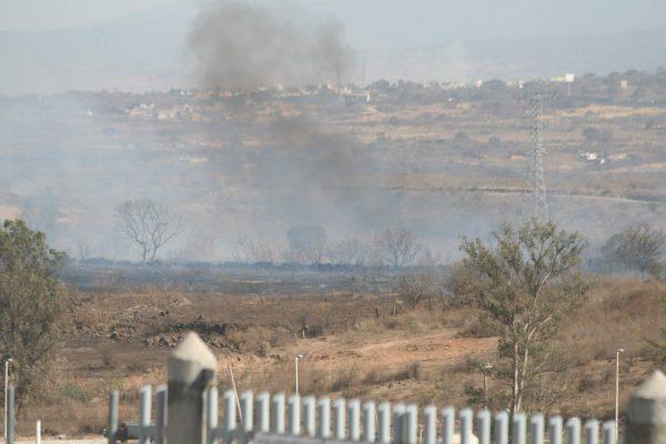 Aún vivos 10 incendios forestales en Jalisco