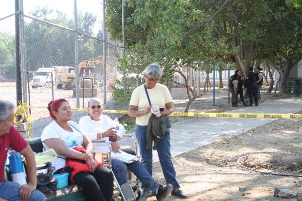 Sufren colonos por falta de colector pluvial