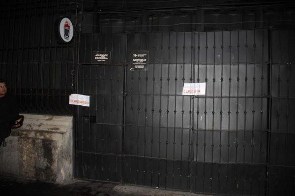 Seis bares del centro tapatío fueron clausurados, la mayoría por exceso de ruido