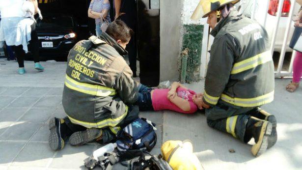Flamazo deja dos lesionados