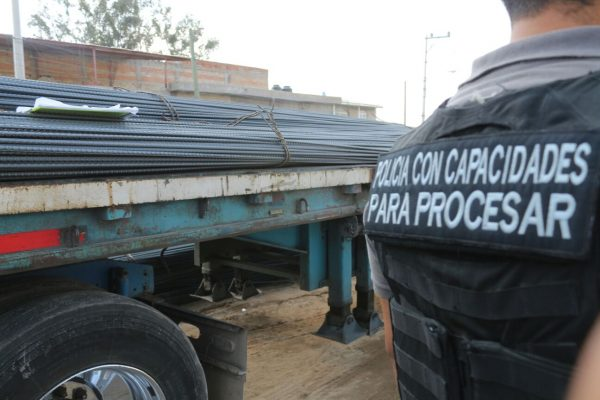 Detienen a 11 por robo de tractocamión en Mesa Colorada