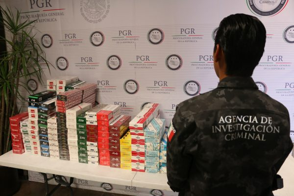 Asegura PGR más de 49 mil cigarros en tiaguis tapatío