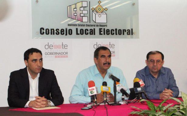 Candidatos a la gubernatura confirman asistencia a debate